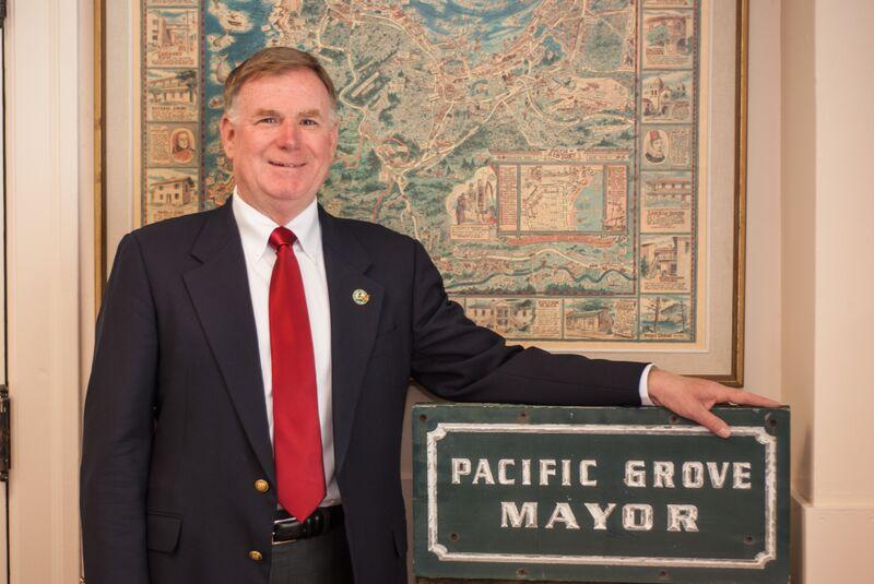Pacific Grove Mayor Sign