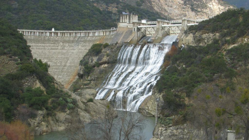 Los Padres Dam in Carmel Valley