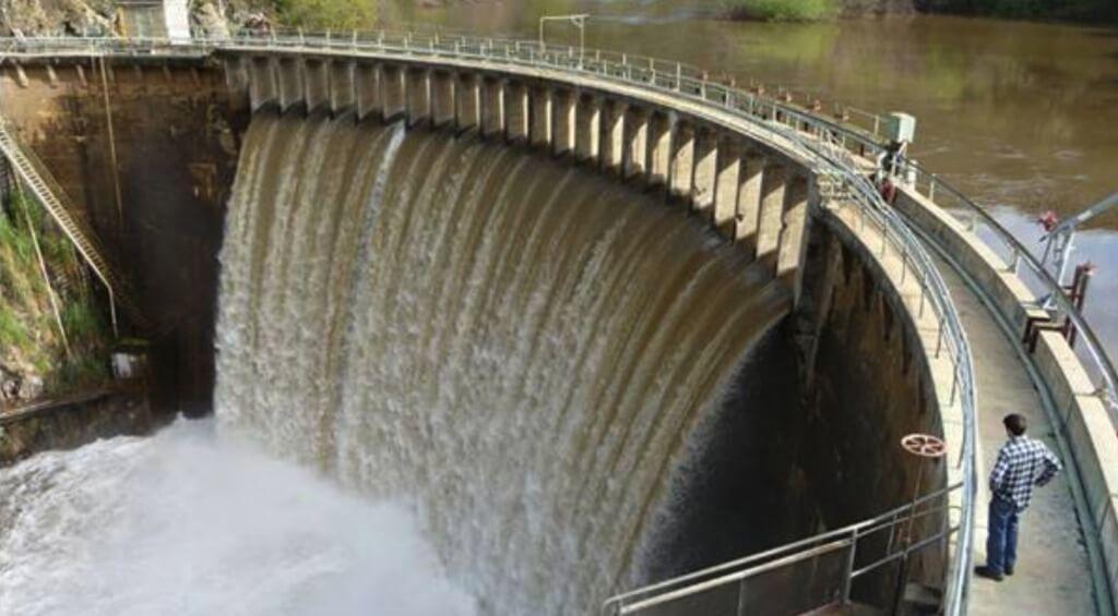 San Clemente dam