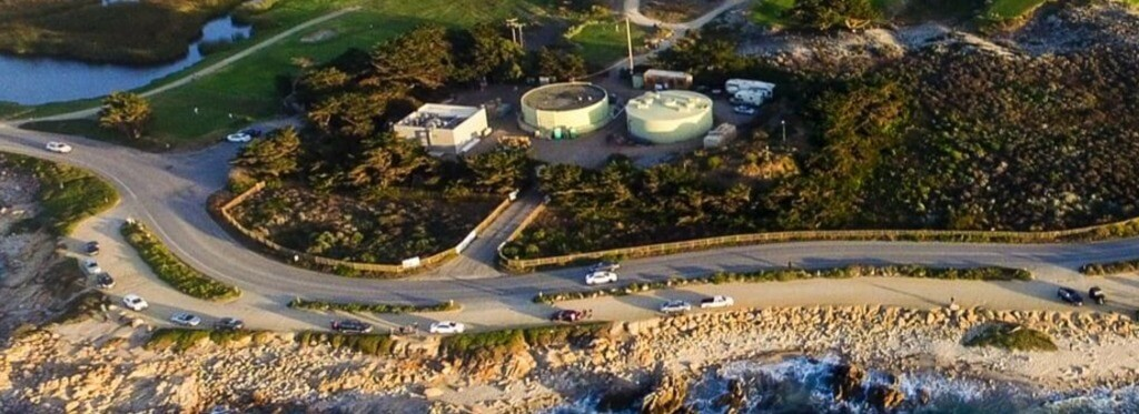 The Pacific Grove Local Water Project plant.