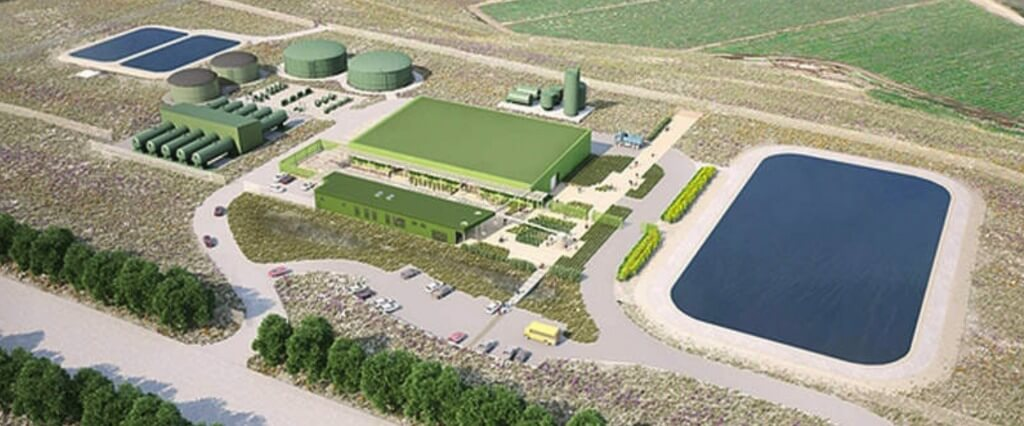 Rendering of the proposed Cal Am desal plant.
